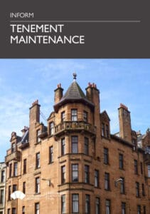 Historic Scotland tenement maintenance guide
